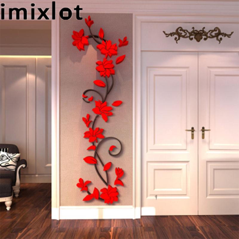 New Removable Rose Flower Vinyl Wall Sticker Decal Art