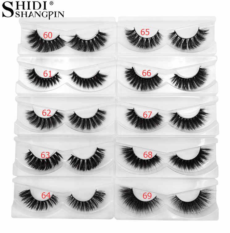 4732c233232 SHIDISHANGPIN 30 pairs eyelashes wholesale mink eyelashes natural long 3d  mink lashes bulk false eyelash cilios