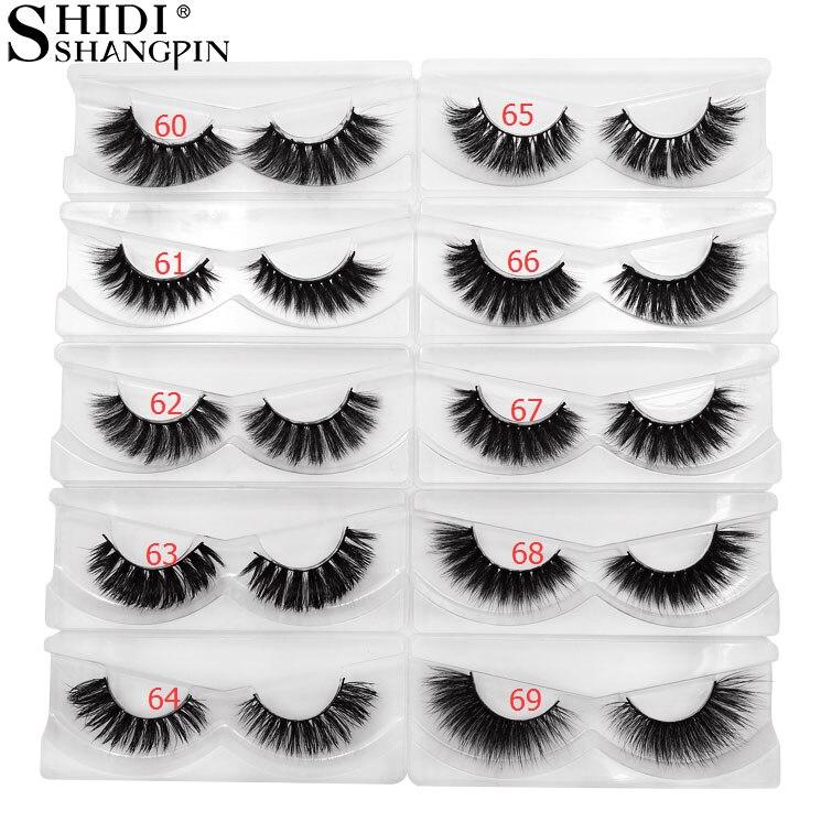 cd729df5dcf SHIDISHANGPIN 30 pairs eyelashes wholesale mink eyelashes natural long 3d  mink lashes bulk false eyelash cilios maquillaje lash
