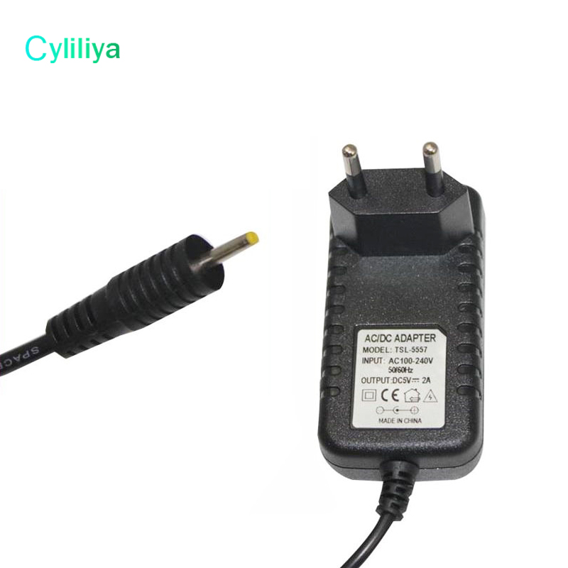 300 pcs Free Shipping 5V 2A AC Home Wall Charger Power ADAPTER w 3 5mm Cord