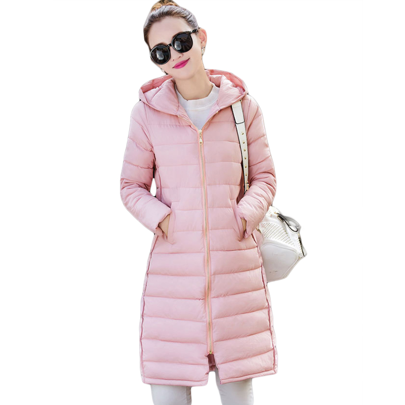Plus Size 3XL Ladies Fashion Winter Coats 2017 Casual Parkas Mujer Outwear Female Hooded Cotton-padded Medium Jackets CM1488 plus size 3xl ladies new fashion winter coats 2017 casual parkas mujer outwear female hooded cotton padded medium jackets cm1754