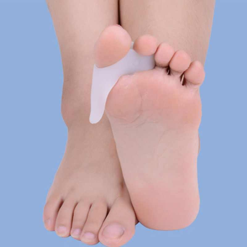 2PCS = 1Pair Big Toe Separator Hallux Valgus Bunion Corrector Orthotics 페디큐어 피트 뼈 엄지 조절기 교정