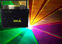 Flightcase+6W RGB Full Color Laser Projector DT30K+ R 637nm/1.5W,G2W,B2.5W+X/Y flips+IP52 optional