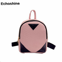 2016 hot sale high quality Women Canvas Rucksack concise Serpentine Backpack School Book Shoulder Bag mochila feminine