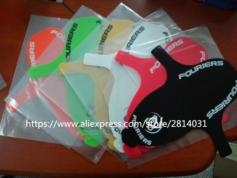 FOURIERS Bicycle Fenders MTB Suspension Fork Mudguard PP Material Black Apple Green Orange Pink White Yellow