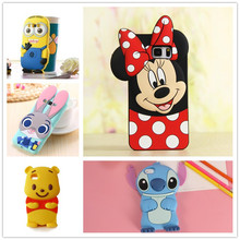 3D Cartoon Soft Silicone Case for Samsung Galaxy S3 S4 S5 S6 S7 edge S8 Plus Grand Prime A3 A5 J1 Mini J3 J5 J7 2016 2017 Cover