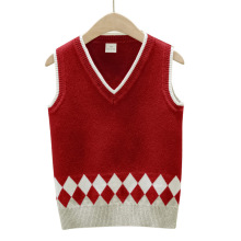 лучшая цена Autumn Winter Knitted Vest Baby Toddler Girls Boys Sweaters Kids Cartoon Sweater Cardigan Boy Girl Tops Children Clothes