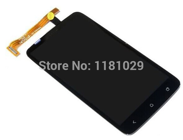 Free Shipping  Brand New Compatible  LCD Display + Digitizer Touch Screen Assembly For HTC One X S720e one XL free shipping brand new compatible lcd display digitizer touch screen assembly for htc one x s720e one xl