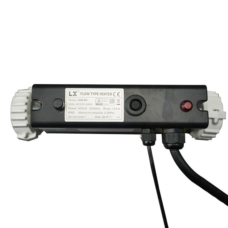 3KW ストレート LX spa 浴槽ヒーター圧力スイッチ H30 R1 、 LX SPA プールヒーター H30 R1 3KW マッサージ浴槽ヒーター  グループ上の 家のリフォーム からの バスウェアセット の中 3