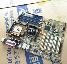 Free shipping original motherboard for ASUS P4P800 SE DDR Socket 478 USB 2.0 865PE Desktop motherborad Free shipping