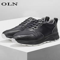 oln New Men Running Shoes Outdoor jogging Brand Super Light Long Distance Run Walking Shoes Men's Shoes Outdoor Athletic 2018
