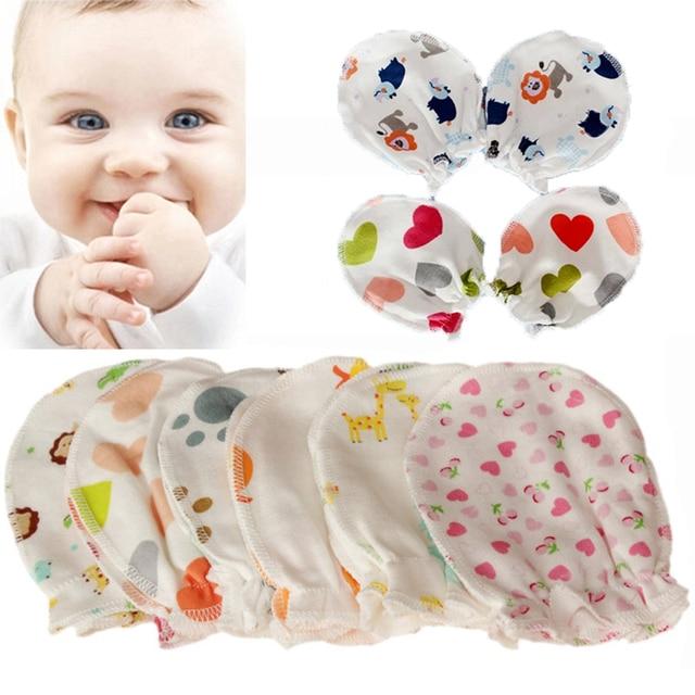 1fe0a6bfc 3Pairs lot Soft Cotton Infant Handguard Newborn Baby Anti Scratch ...