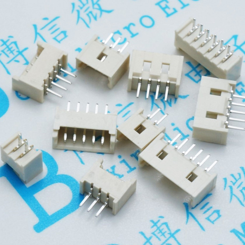 10 PCS Free 1.25mm Pitch Connector Micro JST Horizontal Straight Pin 2/3/4/5/6/7/8/9/10/11/12P Male Socket Heat Resistance