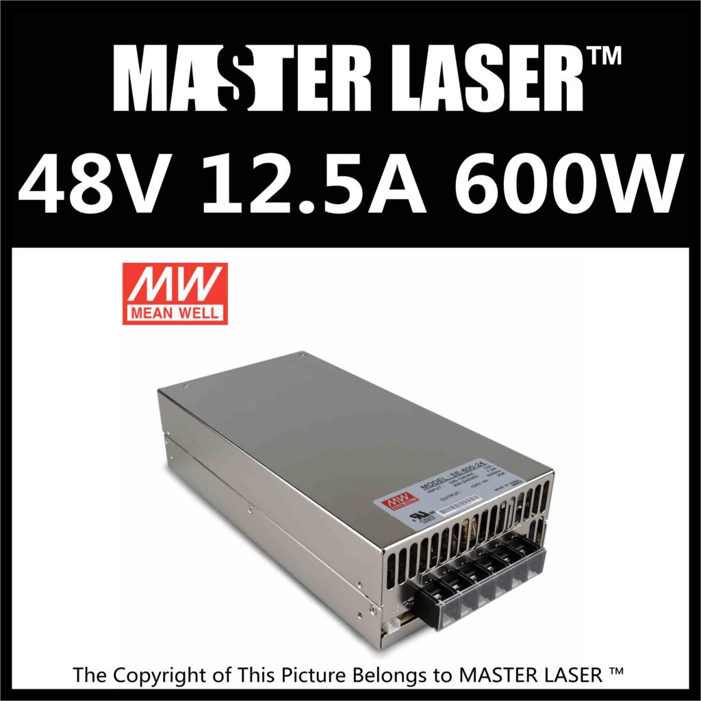 Famous Brand Good Quality 48V 600W MW  Laser  Marking Machine Laser Tube Power Supply Switching Power Supply good quality low price laser tube lifetime 6000hr laser tube for co2 laser marking machine
