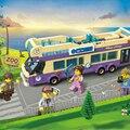 Ciudad enlighten serie estación de autobuses urbanos niños educativos conjuntos de bloques de construcción ladrillos juguetes para los niños