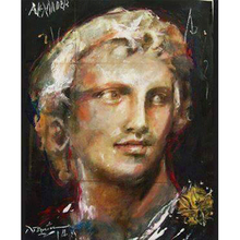 3D Diamond portrait painting Decoration of the cross stitch 5D Square\ Round diamond embroidered mosaic Full of Diamonds Statue painting 3d round cross stitch square diamond mosaic full of diamonds embroidered with diamonds beauty warrior