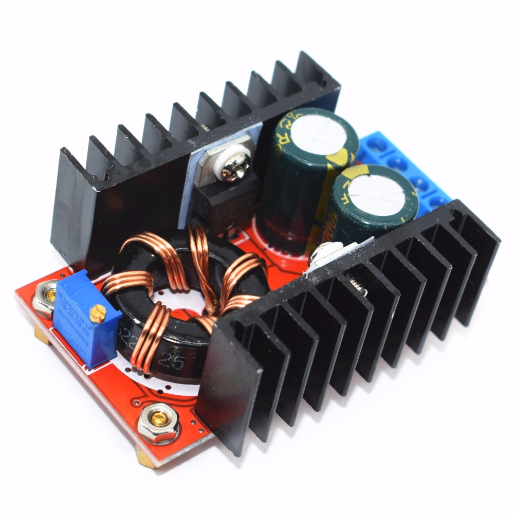 20pcs 150W Boost Converter DC to DC 10 32V to 12 35V Step Up Voltage Charger