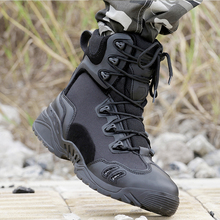 Laite Hebe Delta Tactical Shoes Military Boots 2017 New SWAT Combat Boots Outdoor Army Shoes Waterproof Boots Hiking Men LH187