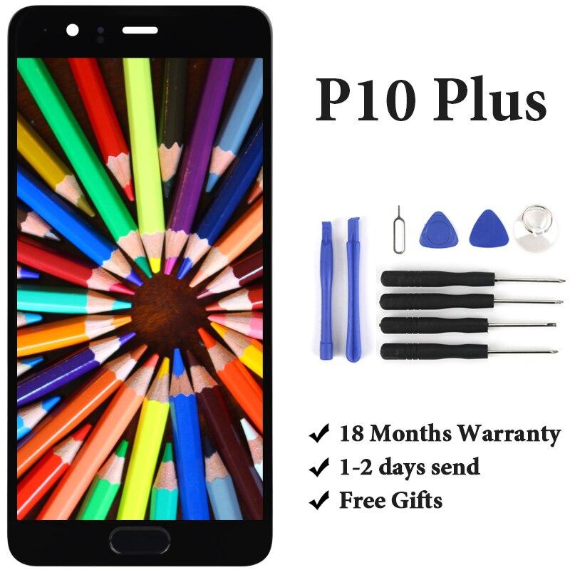 5.2 'pour Huawei P10 Plus écran LCD avec remplacement de l'assemblage de l'écran tactile pour Huawei P10 Plus VKY-L09 LCD VKY-L29 avec outils