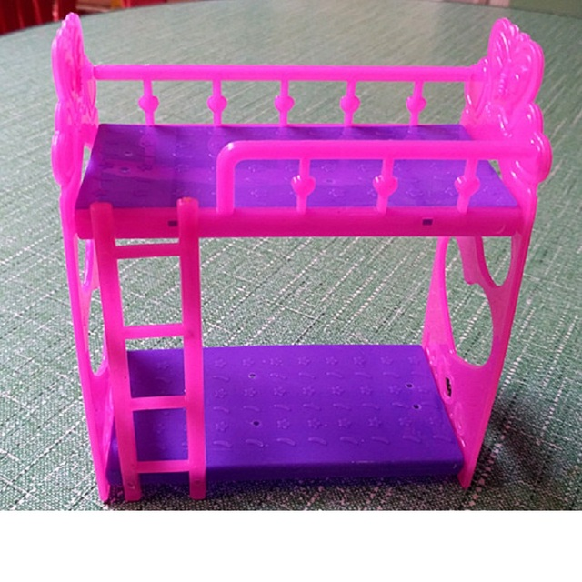Muebles de Casa de Muñecas de color rosa para la Muchacha Americana ...