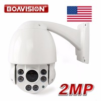 US Store To US 1080P CVI CAMERA 10X Optical Zoom CCTV HDCVI Speed Dome 2MP PTZ