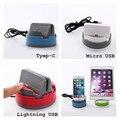 Телефон Зарядное Устройство Стенд 360 Градусов Вращения Автомобильный Держатель Для Типа C редми Pro Для iPhone 7 iPad Mini Таблетки Для Samsung Xiaomi Android