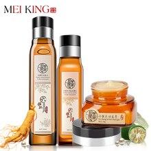 MEIKING Skin Care Set Treatment Acne Remove wrinkles ageless Whitening Brightening Anti-aging Moisturizing Cream Lotion Toner