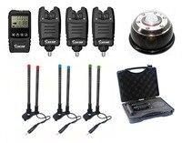 Sınırlı sayıda Galaxy BL 3 Ile Su Geçirmez + Damla Geri Kablosuz Bite Alarm Set * Budak barlar ve 1 * lamba Işığı Alıcı Sazan Balıkçılık