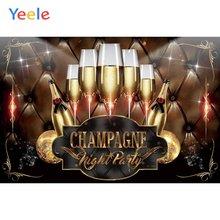 Yeele Шампань Ночная Вечеринка винный рок танцевальный Декор