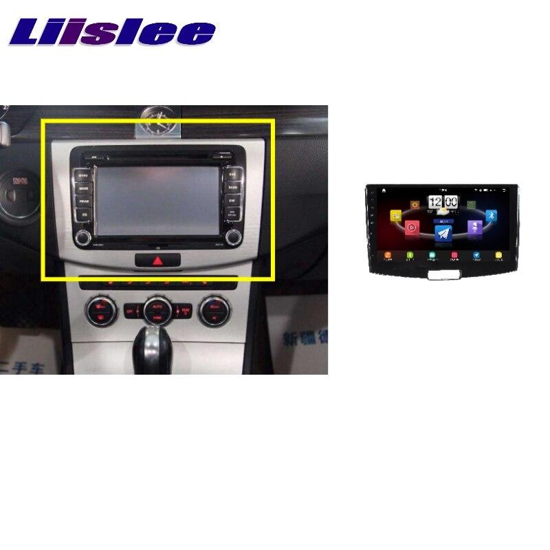 Pour Volkswagen VW B7 Passat Magotan LiisLee voiture multimédia TV DVD GPS Audio Hi-Fi Radio stéréo Style Original Navigation NAVI