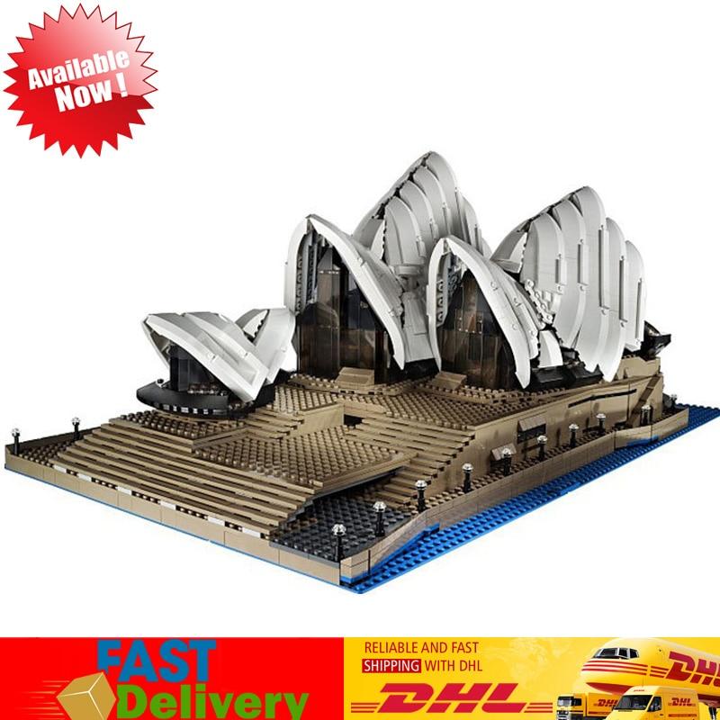 Lepin 17003 2989pcs Sydney Opera Huose Australia's Architectural Building Blocks Bricks Model Toys Compatible LegoINGlys 10234