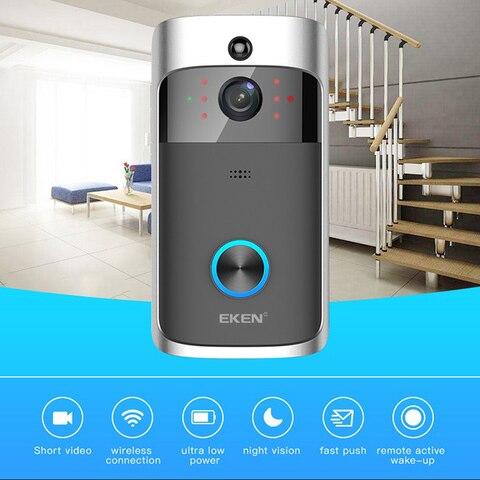 Smart IP Video Intercom WI-FI Video Door Phone Door Bell WIFI Doorbell Camera For Apartments IR Alarm Wireless Security Camera Karachi