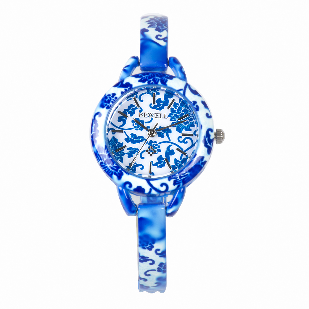 BEWELL Top Luxury Watch Antique Design Round Face Simulated Ceramics Strap Germs and Stone Watches for Ladies with Gift Box 079ABEWELL Top Luxury Watch Antique Design Round Face Simulated Ceramics Strap Germs and Stone Watches for Ladies with Gift Box 079A