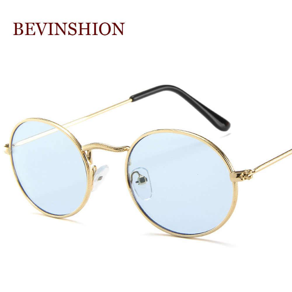a7da3f6d2c ... Brand Small Oval Glasses Women s Round Sunglasses Men Hip Hop Rap  Vintage 2018 Fashion Ladies Sunglasses ...