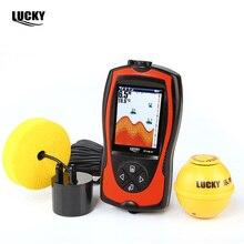 New Lucky FF1108-1CLA Wireless Wired Fish Finder 90 Degree Sonar Sensor Alarm System Deeper Sea Fishing Radar Equipment #B0