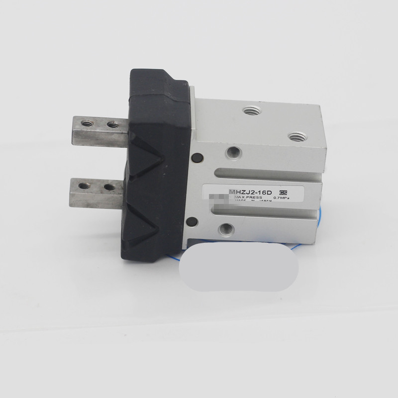 SMC type Pneumatic Parallel Gripper Double Acting MHZJ2-16D Air Cylinder high quality double acting pneumatic gripper mhy2 25d smc type 180 degree angular style air cylinder aluminium clamps