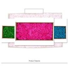 Сохраненный свежий цветок, искусственные сушеные цветы, роз 500 г, большая коробка, моховые цветы для защиты стен