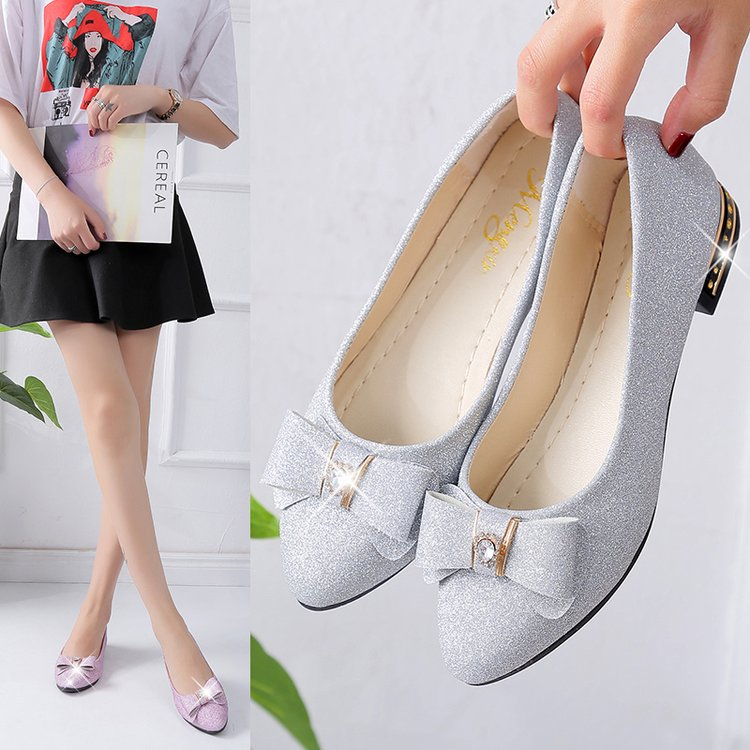 Brand Ksyoocur 2018 New Ladies Flat Shoes Casual Women Shoes Comfortable Pointed Toe Flat Shoes Spring/autumn Women Shoes 18-030 pozid 180g page 5