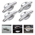 New Chrome Door Handle Cover + Cup Bowl Cover Trim for Toyota Corolla 2003 2004 2005 2006 Yaris Vios 2006 2007 2008 2009 2010