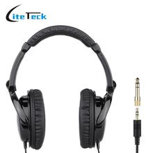 HD 2000 Wired Stereo Dynamic Monitor Headphone Headset for Guitar PC Computer CD Player Walkman MP3 MP4 Earphone(China (Mainland))