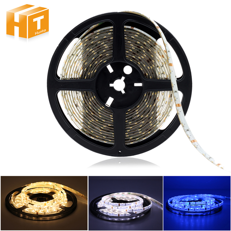 335 Side View LED Strip DC12V Extra Bright Side Emitting Strip Neon Tape 60LEDs/m Cold White / Warm White / Blue 5m