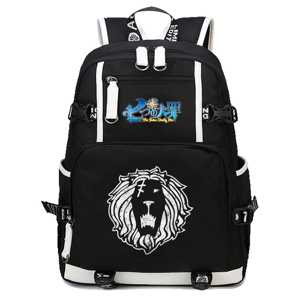 anime The Seven Deadly Sins Backpack School Bags Bookbag Satchel Work Bag women men Laptop Travel Shoulder Bagsanime The Seven Deadly Sins Backpack School Bags Bookbag Satchel Work Bag women men Laptop Travel Shoulder Bags