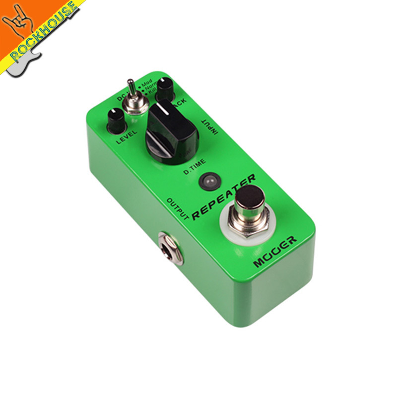 MOOER Repeater Delay Guitar Effects Pedal 3 Working Modes: Mod/Normal/Kill Dry 1000ms Delay Time True Bypass Free Shipping палатка normal виктория 3