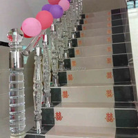 Acrylic Rod Balustrades Handrails Trasparent Bar Home Improvement Plastic Building Material Can Make Many Different Type