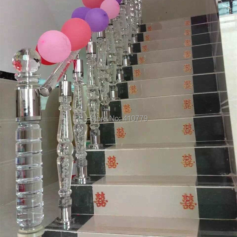 Acrylic Rod Balustrades Stair Railing Transparent Home Improvement Plastic  Building Material Can Make Many Different Type 0685 In Fencing, Trellis U0026  Gates ...