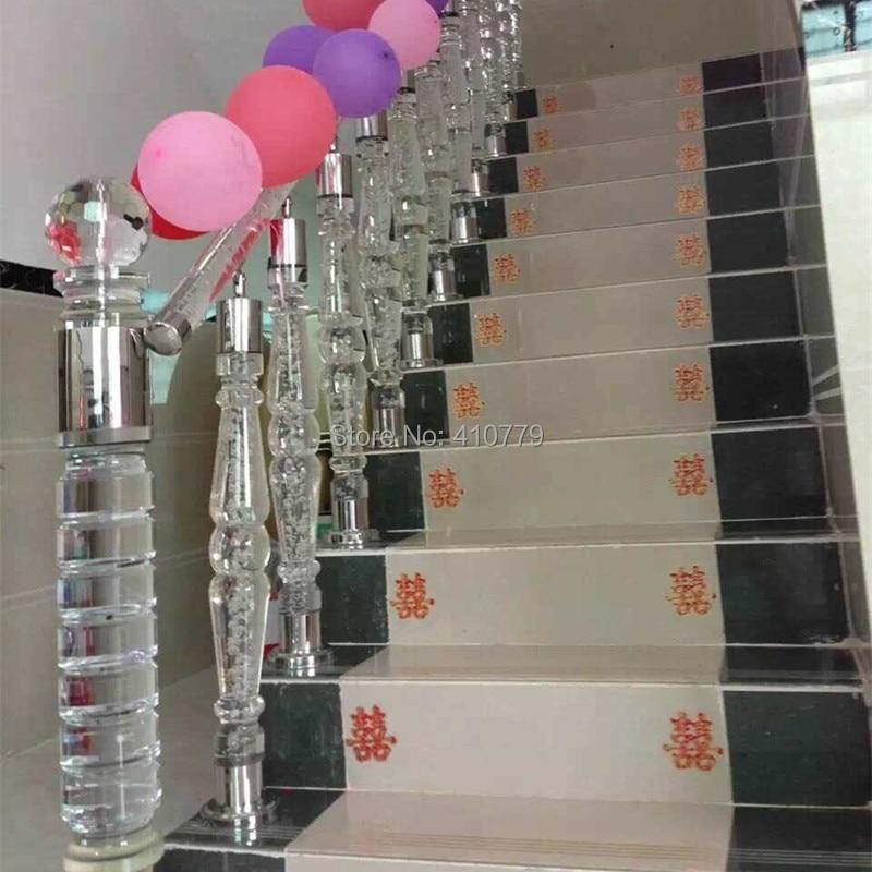 Acrylique Rod Balustrades Escalier Garde Corps Transparent