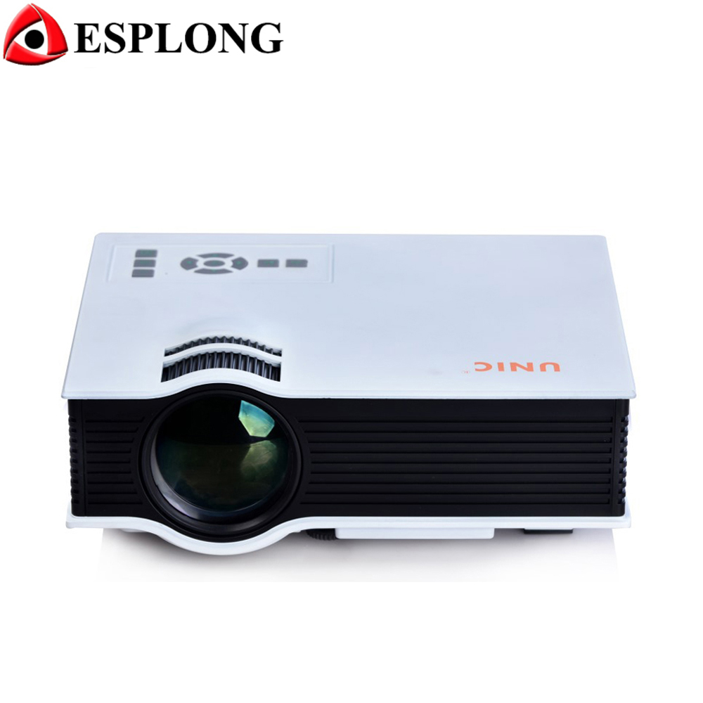 UNIC UC40 LED Projector with USB HDMI VGA For Home Theater Beamer Portable Mini 3D Video Projector Full HD 1080P projetor
