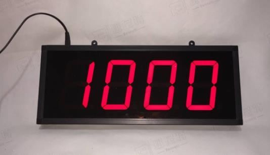 LED numbers count display screen  LED numbers count display screen