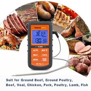 Image 3 - ThermoPro TP06Sอัพเกรดรุ่นDigital Single Probeห้องครัวทำอาหารMeatเครื่องวัดอุณหภูมิจับเวลา/อุณหภูมิ