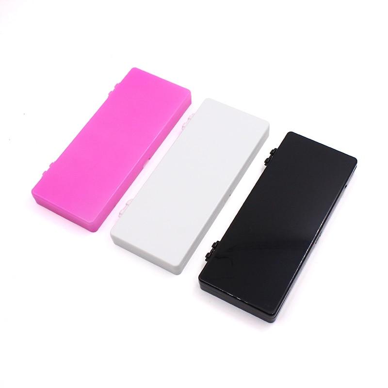 1Pcs 24 Grids Nail Color Paint Palette Holder Acrylic Gel Polish Drawing Color Mixing Dish DIY Display Tools